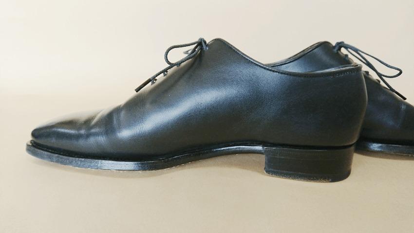 大塚製靴(OTSUKA)のホールカットの側面内側