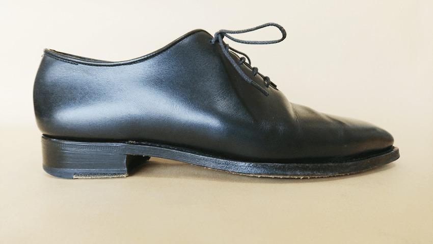 大塚製靴(OTSUKA)のホールカットの横面