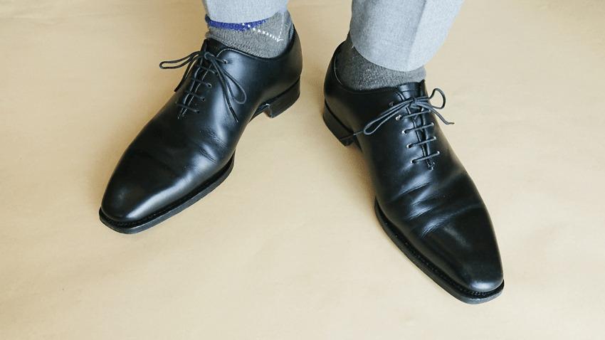 大塚製靴(OTSUKA)のホールカットの実際