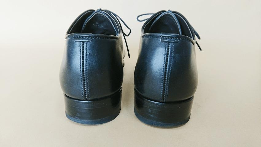 大塚製靴(OTSUKA)のホールカットのカカト