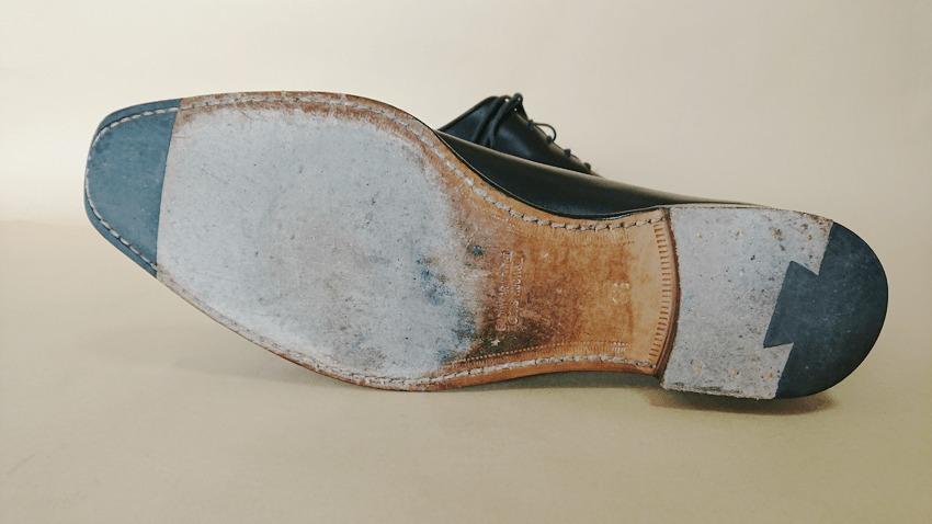 大塚製靴(OTSUKA)のホールカットの靴底