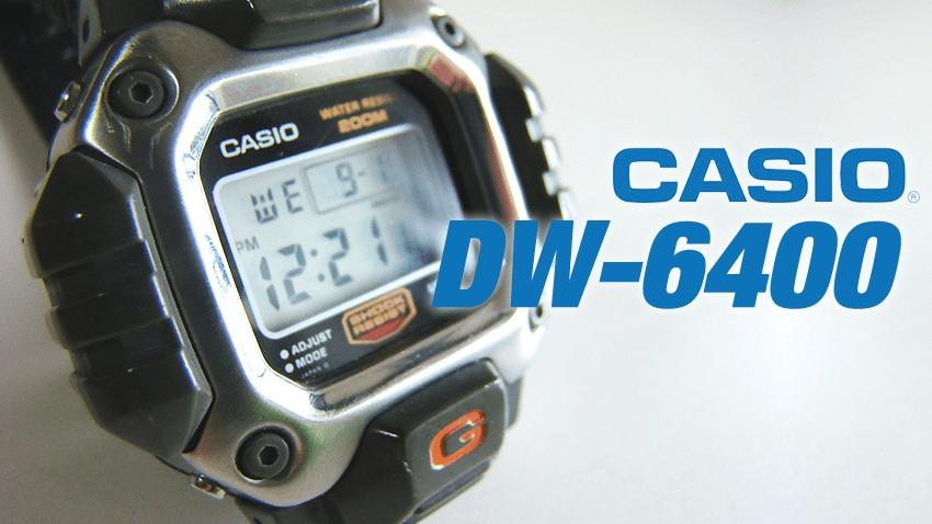 CASIO DW-6400 ガンダムモデルのトップ画像