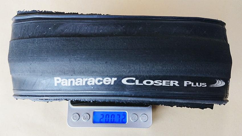 Panaracer Closer Plusパナレーサークローザープラス 重さ2
