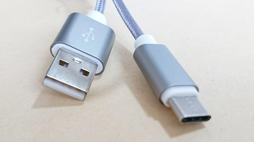 ANKER USBケーブルとの比較6