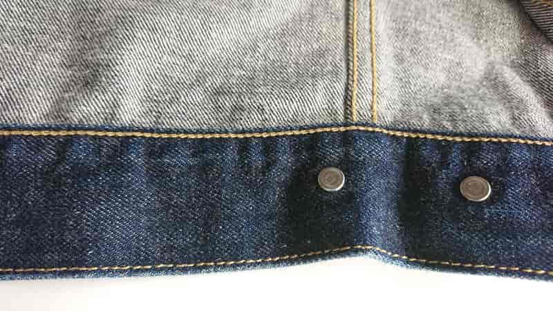 リーバイス557の裾