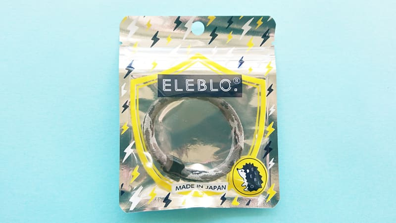 ELEBLO静電気防止リングのパッケージ表面画像