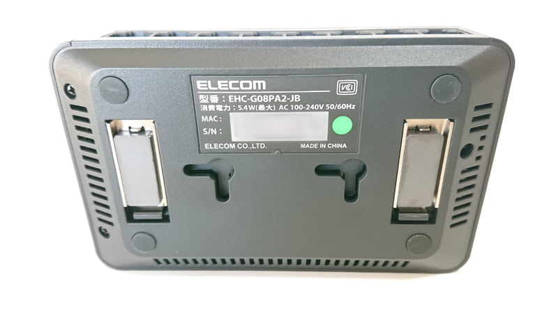 elecomハブEHC-G08PA2-JB_1
