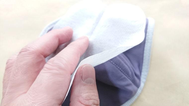 内側の不織布マスク4