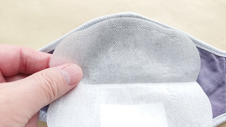 内側の不織布マスク8