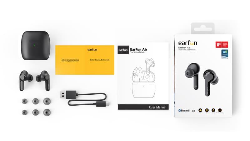 earfun-Airのパッケージ
