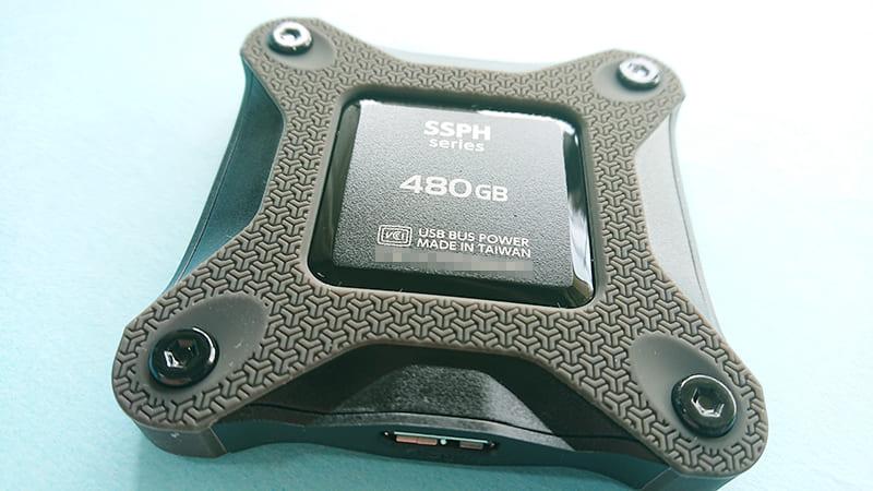 i-o data 480GB外付けSSD8