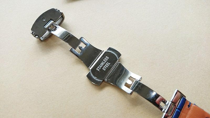 オメガスピードマスター2回目の革ベルト交換8