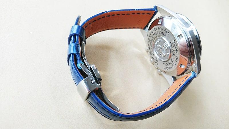 オメガスピードマスター2回目の革ベルト交換5
