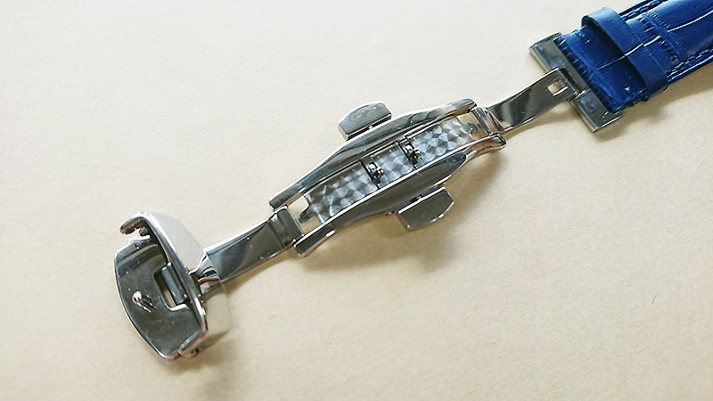 オメガスピードマスター2回目の革ベルト交換10
