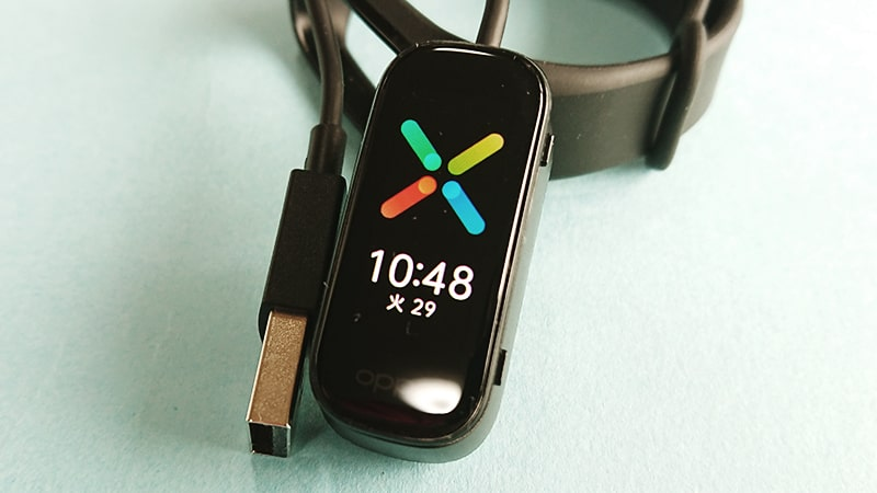 OPPO Band Styleの充電方法