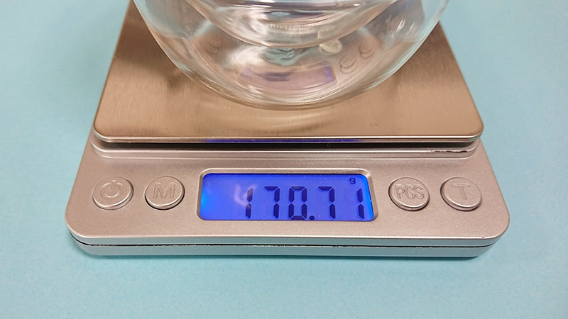 KINTO KRONOSの350mlの重量