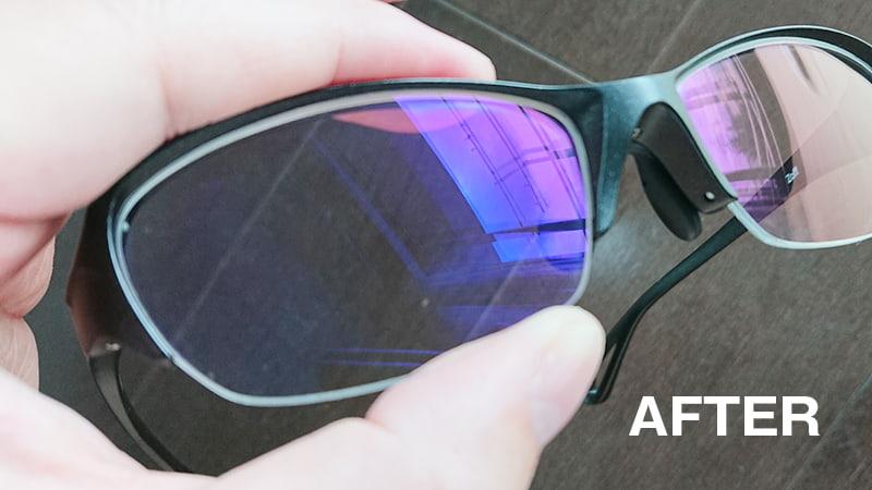無印の携帯用メガネ拭き9