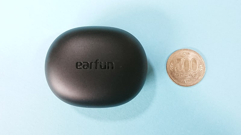earfun-Air-pro2の充電ケースの大きさ2