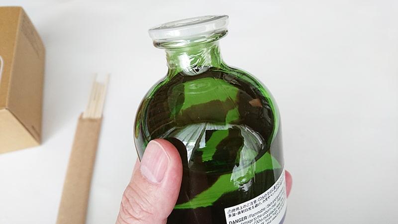 無印インテリアフレグランスの瓶